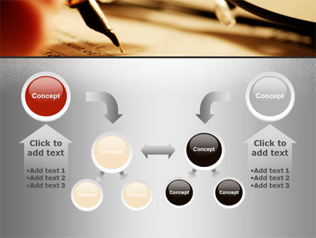 Pen Signing PowerPoint Template Slide 19