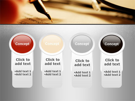 Pen Signing PowerPoint Template Slide 5