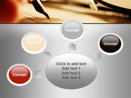 Pen Signing PowerPoint Template Slide 7