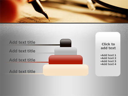 Pen Signing PowerPoint Template Slide 8