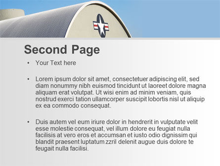 Hangar PowerPoint Template Slide 2
