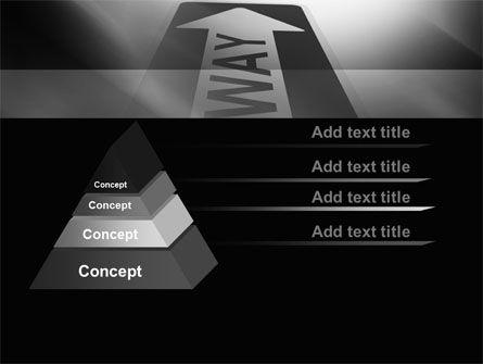 One Way Arrow PowerPoint Template Slide 12
