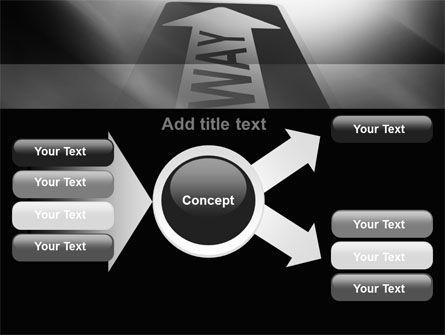 One Way Arrow PowerPoint Template Slide 14