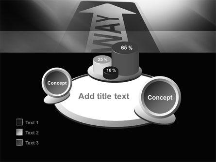 One Way Arrow PowerPoint Template Slide 16