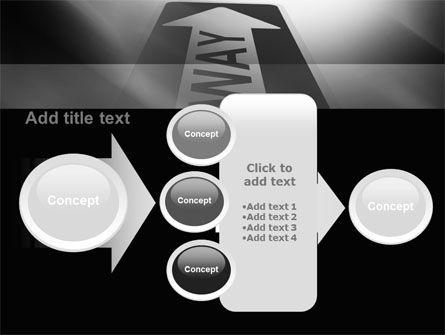 One Way Arrow PowerPoint Template Slide 17