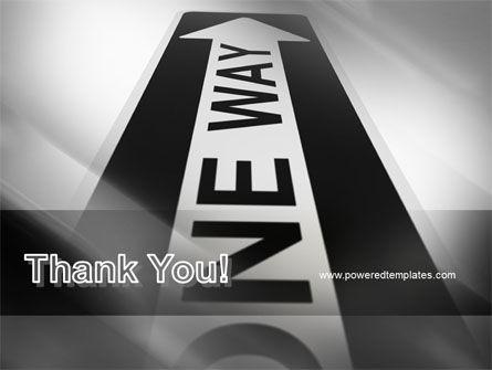 One Way Arrow PowerPoint Template Slide 20