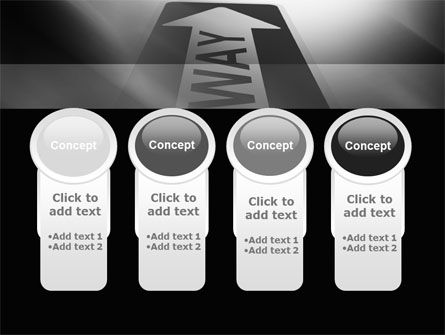 One Way Arrow PowerPoint Template Slide 5