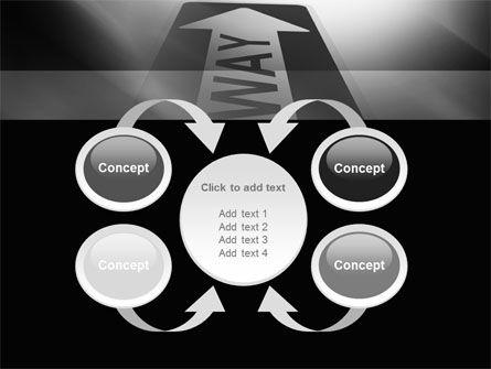 One Way Arrow PowerPoint Template Slide 6
