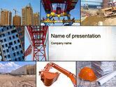 Careers/Industry: Modèle PowerPoint de bâtiment civil #10289