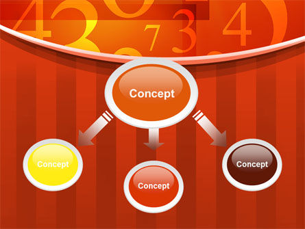 Math Numbers PowerPoint Template, Slide 4, 10290, Education & Training — PoweredTemplate.com