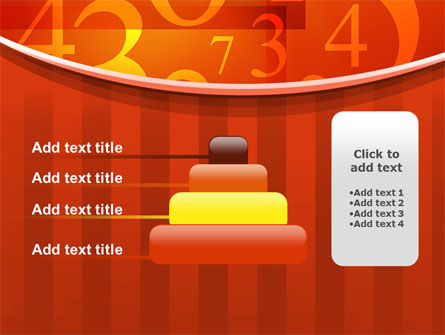 Math Numbers PowerPoint Template Slide 8