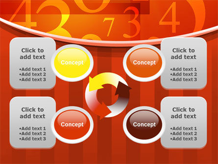 Math Numbers PowerPoint Template Slide 9