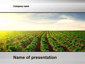 Agriculture: Landbouw PowerPoint Template #10291