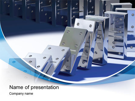 Dominoes PowerPoint Template
