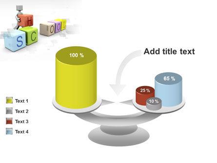 School Blocks PowerPoint Template Slide 10