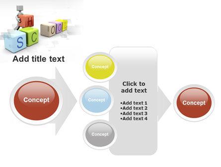 School Blocks PowerPoint Template Slide 17