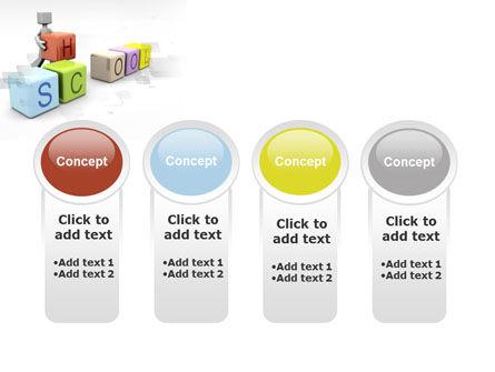 School Blocks PowerPoint Template Slide 5