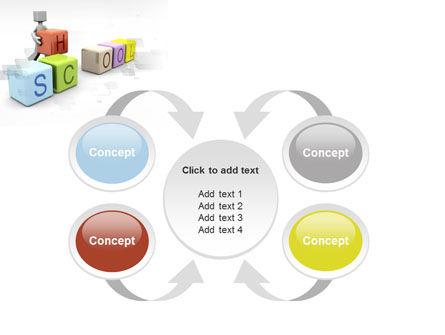 School Blocks PowerPoint Template Slide 6
