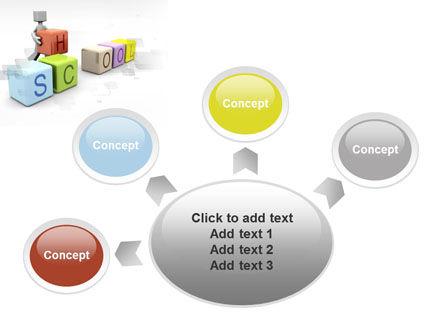 School Blocks PowerPoint Template Slide 7
