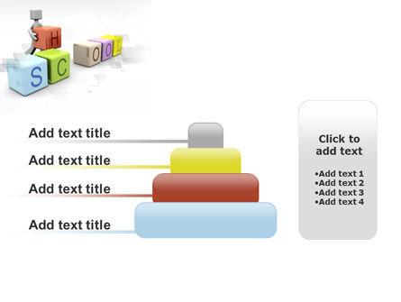 School Blocks PowerPoint Template Slide 8