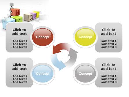School Blocks PowerPoint Template Slide 9