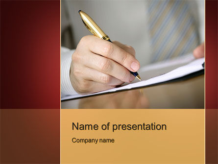 Business Concepts: Modello PowerPoint - Sinossi #10297