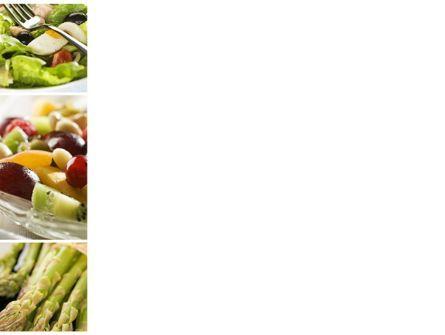 Vegetarian PowerPoint Template, Slide 3, 10298, Food & Beverage — PoweredTemplate.com