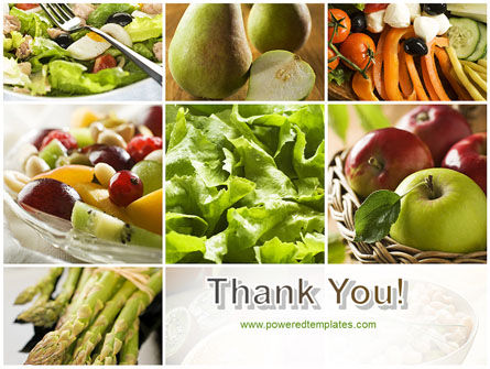 Vegetarian PowerPoint Template Slide 20