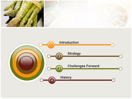 Vegetarian PowerPoint Template, Slide 3, 10298, Food & Beverage — PoweredTemplate.com