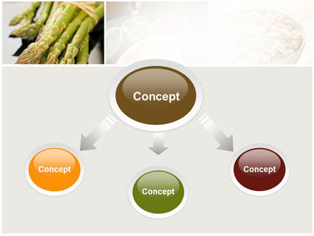 Vegetarian PowerPoint Template, Slide 4, 10298, Food & Beverage — PoweredTemplate.com