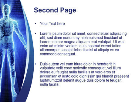 Cybernetical PowerPoint Template, Slide 2, 10299, Technology and Science — PoweredTemplate.com