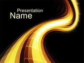 Abstract/Textures: Fluorescent PowerPoint Template #10300