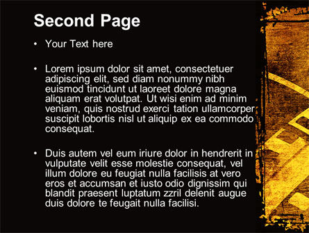 Film Sepia PowerPoint Template Slide 2