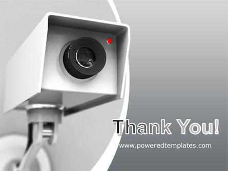 Surveillance PowerPoint Template Slide 20