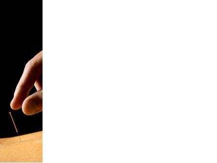 Acupuncture Procedure PowerPoint Template, Slide 3, 10308, Medical — PoweredTemplate.com