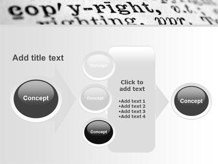 Copyright PowerPoint Template Slide 17