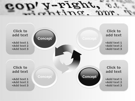 Copyright PowerPoint Template Slide 9