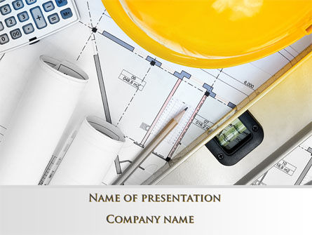 Drawings PowerPoint Template, 10313, Careers/Industry — PoweredTemplate.com