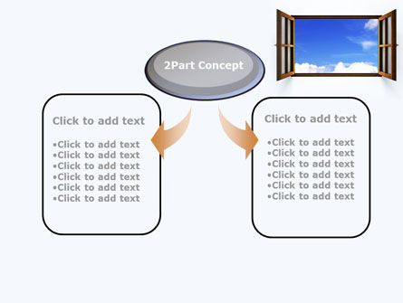 Open Window PowerPoint Template Slide 4