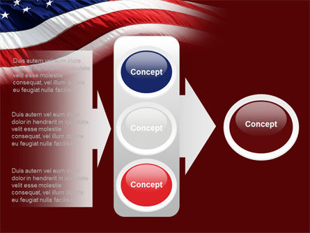 Old Glory PowerPoint Template Slide 11