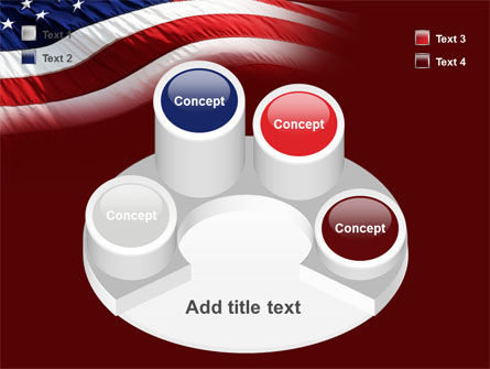 Old Glory PowerPoint Template Slide 12