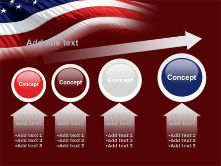 Old Glory PowerPoint Template Slide 13