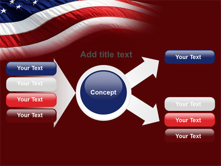 Old Glory PowerPoint Template Slide 14