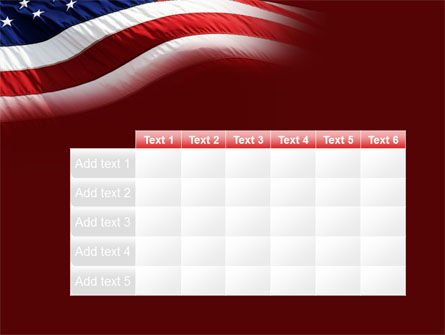 Old Glory PowerPoint Template Slide 15