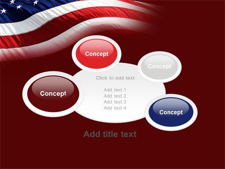 Old Glory PowerPoint Template Slide 16