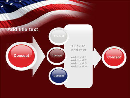 Old Glory PowerPoint Template Slide 17