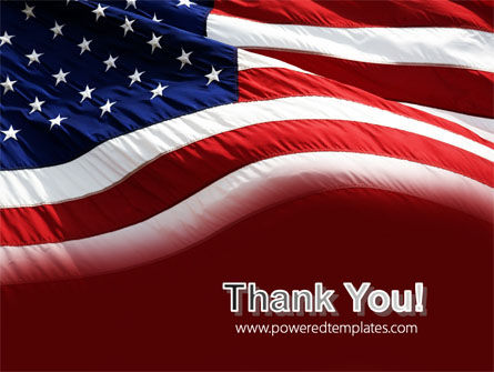 Old Glory PowerPoint Template Slide 20