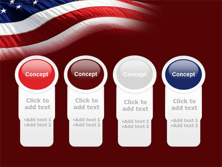 Old Glory PowerPoint Template Slide 5