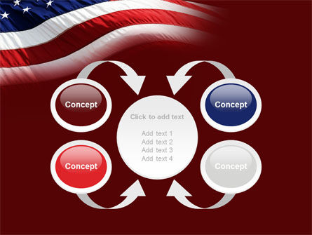 Old Glory PowerPoint Template Slide 6