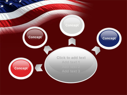Old Glory PowerPoint Template Slide 7